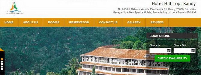 Hotel Hilltop Kandy